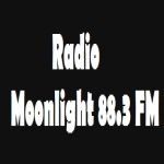 Logo da emissora Radio Moonlight 88.3 FM