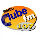 Logo da emissora Rádio Clube 107 FM