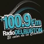 Logo da emissora Radio Delburton 107.3 FM