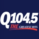 Logo da emissora Radio KIQO 104.5 FM