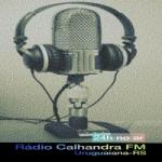 Logo da emissora Rádio Calhandra FM