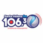 Logo da emissora Rádio Santa Helena 106.3 FM