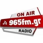 Logo da emissora 96.5 FM Radio