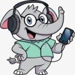Logo da emissora Rádio Elefante