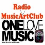 Logo da emissora Music Art Club