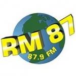 Logo da emissora Rádio RM 87