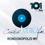Logo da emissora Rádio Centro América 101.5 FM Hits