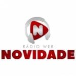 Logo da emissora Rádio Web Novidade