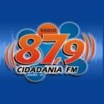 Logo da emissora Rádio Cidadania 87.9 FM
