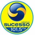 Logo da emissora Rádio Sucesso 101.5 FM