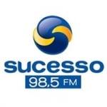 Logo da emissora Rádio Sucesso 98.5 FM