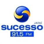 Logo da emissora Rádio Sucesso 91.5 FM