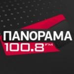Logo da emissora Panorama 100.8 FM