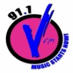 Logo da emissora Radio V FM 91.1