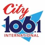 Logo da emissora Radio City International 106.1 FM