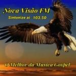 Logo da emissora Rádio Nova Visão Angra Dos Reis FM