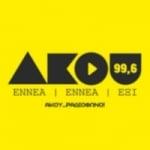 Logo da emissora Akou 99.6 FM