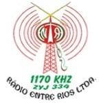 Logo da emissora Rádio Entre Rios  1170 AM