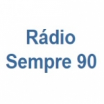 Logo da emissora Rádio Sempre 90