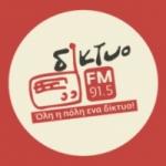 Logo da emissora Diktyo FM 91.5
