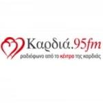 Logo da emissora Radio Kardia 95 FM