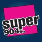 Logo da emissora Radio Super 90.4 FM