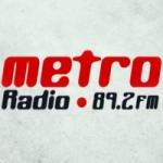 Logo da emissora Metro Radio 89.2