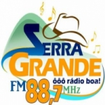 Logo da emissora Rádio Serra Grande 88.7 FM