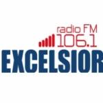Logo da emissora Rádio Excelsior 106.1 FM