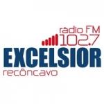 Logo da emissora Rádio Excelsior Recôncavo 102.7 FM