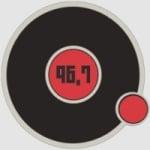 Logo da emissora Uoc Radio 96.7 FM