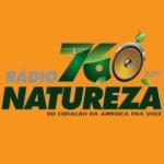 Logo da emissora Rádio Natureza 760 AM