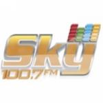 Logo da emissora Sky FM 100.7