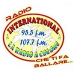 Logo da emissora International 95.5 FM