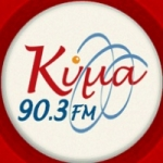 Logo da emissora Radio Kyma 90.3 FM