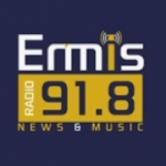 Logo da emissora Ermis Radio 91.8 FM