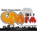 Logo da emissora Rádio CPA 105.9 FM