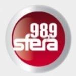 Logo da emissora Radio Sfera 98.9 FM