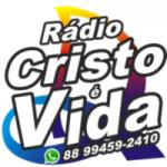 Logo da emissora Rádio Cristo é Vida FM