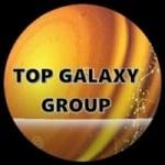 Logo da emissora Rádio Top Galaxy Group