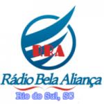 Logo da emissora Rádio Bela Aliança