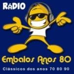 Logo da emissora Rádio Embalos Anos 80