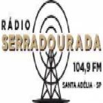 Logo da emissora Rádio Serra Dourada 104.9 FM