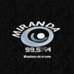 Logo da emissora Rádio FM Miranda