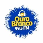 Logo da emissora Rádio Ouro Branco 99.5 FM