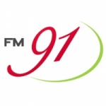 Logo da emissora Rádio FM 91