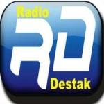 Logo da emissora Rádio Destak 99.1 FM