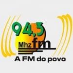 Logo da emissora Rádio Metropolitana 94.3 FM