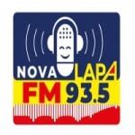 Logo da emissora Rádio Nova Lapa 93.5 FM