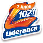 Logo da emissora Rádio Liderança 102.1 FM